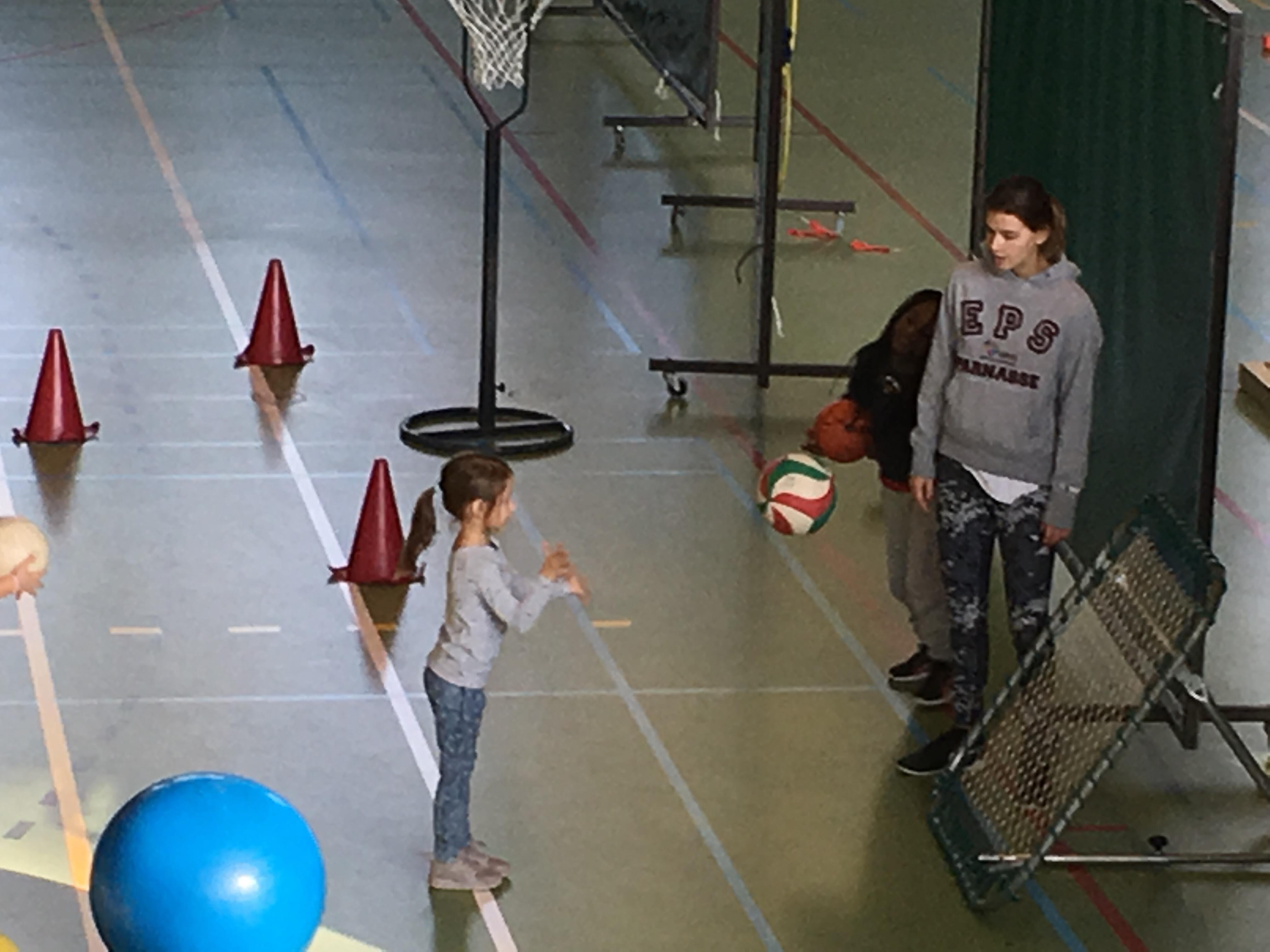 Journée sportive en maternelle