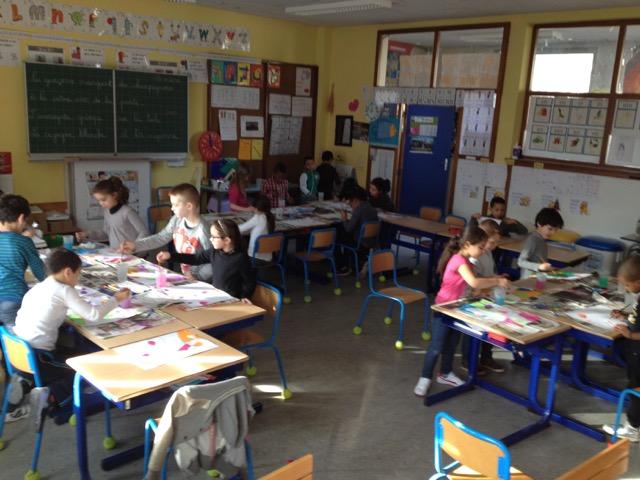Un espace de détente et de bien-être en classe de P2T
